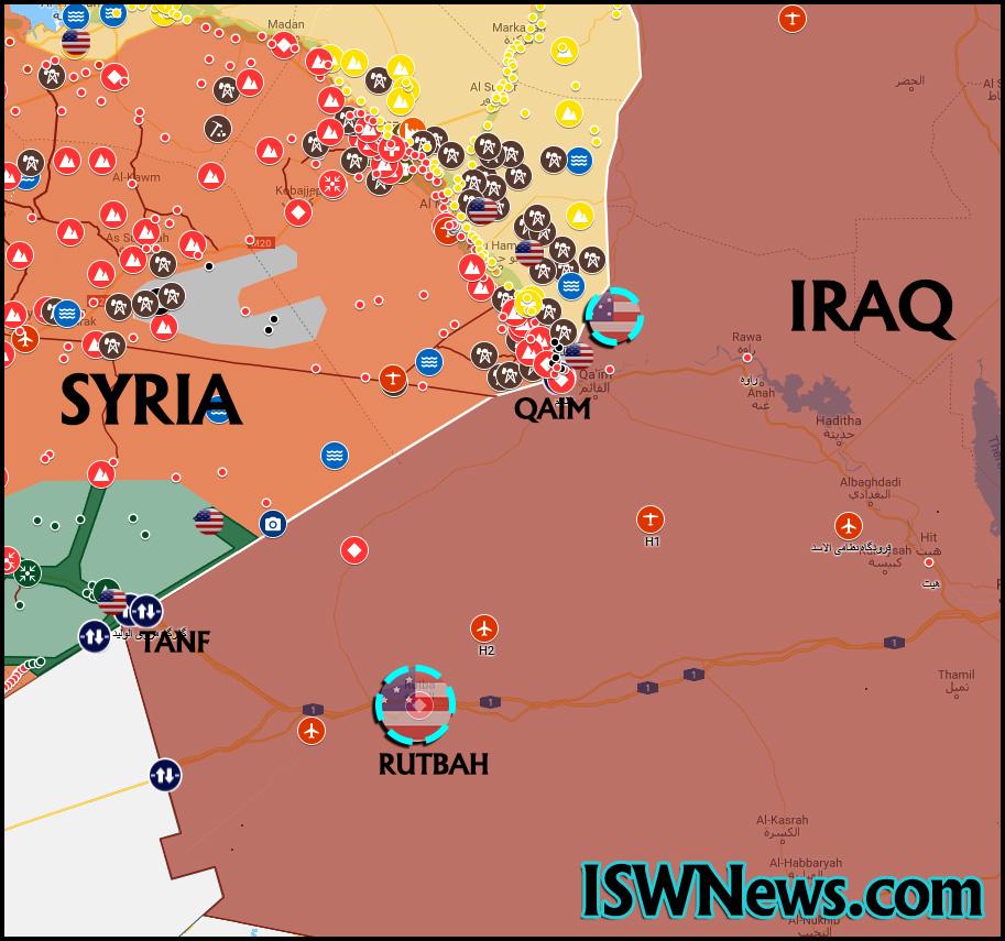 Establishing Two New Military Bases by US. Inside Iraq – IWN